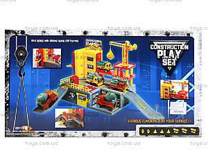 Детский паркинг с авто, 09118, toys.com.ua