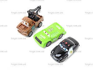 Детский паркинг с металлическими машинками «Тачки» , 283-2, магазин игрушек