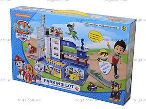 Детский паркинг «Щенячий патруль» в коробке, ZY-580, фото