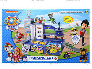 Детский паркинг «Щенячий патруль» в коробке, ZY-580, отзывы