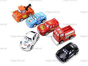 Детский паркинг «Тачки» с машинками, P3499, цена