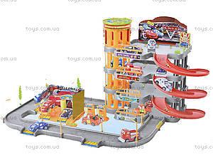 Детский паркинг «Тачки» с машинками, P3499, игрушки