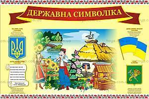 Детский Плакат «Символика», 0312а