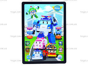 Детский планшет «Робокар Поли», JD-3883P2, купить