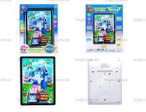 Детский планшет «Робокар Поли», JD-3883P2