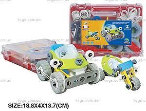 Детский пластиковый конструктор «Машины», 2555-12А