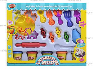 Детский пластилин с набором для фигурной лепки, KA2019M, купить