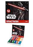 Детский пластилин Star Wars, 12 цветов, Ц557008У, отзывы