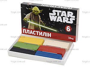 Детский пластилин «Звездные войны», 6 цветов, Ц557007У, купить
