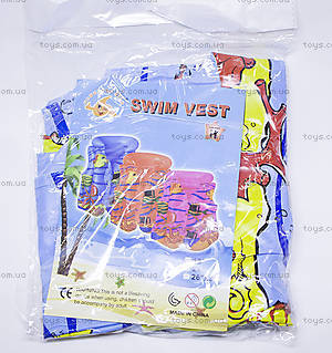 Детский плавательный жилет с рисунками, BT-IG-0004