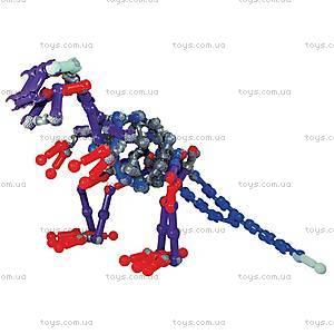 Детский подвижный конструктор ZOOB Glow Dino, 14004, цена