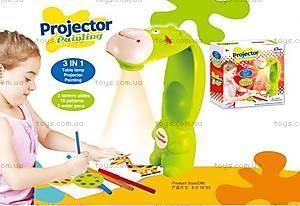 Детский проектор-настольная лампа «Жираф», 8188