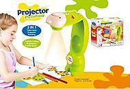 Детский проектор-настольная лампа «Жираф», 8188, фото