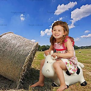 Детский прыгун «Коровка Белла», бело-черный, KFMC130101, купить
