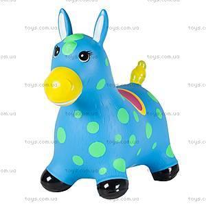 Детский прыгун «Пятнистый пони», голубой, JN59021B