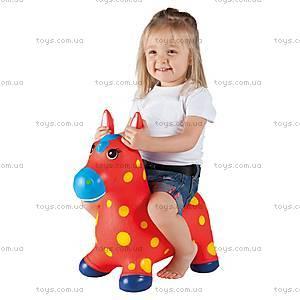 Детский прыгун «Пятнистый пони», красный, JN59021R
