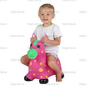 Детский прыгун «Пятнистый пони», розовый, JN59034P