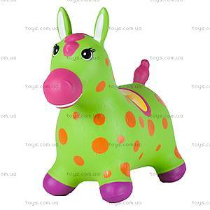 Детский прыгун «Пятнистый пони», зеленый, JN59034GN