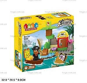 Детский пиратский конструктор JDLT, 5265