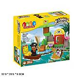 Детский пиратский конструктор, 5265, фото