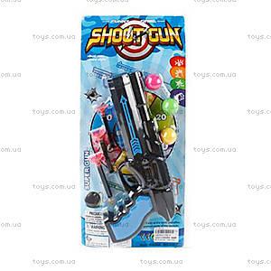 Детский пистолет для стрельбы мячиками, 336-6