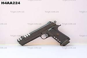 Детский пистолет с пульками игрушечный, 2007