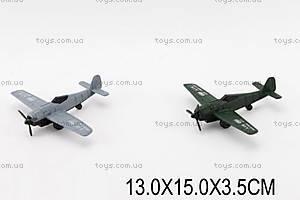 Детский самолёт инерционный , 005-1