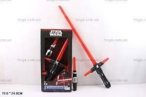 Детский световой меч Star Wars, 62008
