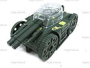 Детский танк, инерционный, 8689