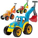 Детский  «Трактор с ковшом», 3435, фото