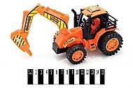 Детский трактор,  инерционный, 925-9, отзывы