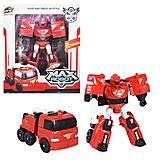 """Детский трансформер """"Max Robot"""" красный, L015-33, фото"""
