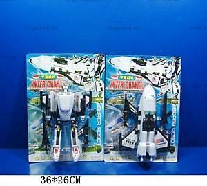 Детский трансформер робот-самолет, 2688
