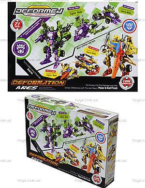 Детский трансформер-робот Warrior, 666-B