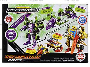 Детский трансформер-робот Warrior, 666-B, toys.com.ua