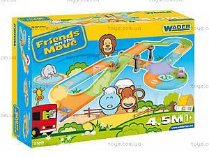 Детский трек Friends on the move с мостом, 54021, купить