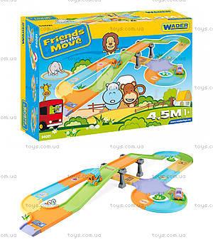 Детский трек Friends on the move с мостом, 54021