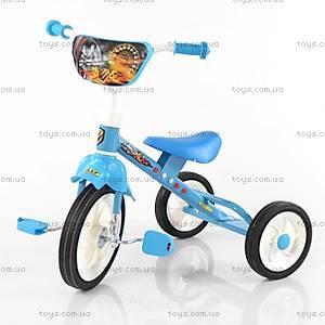Детский трехколесный велосипед, голубой, BT-CT-0009 BLUE