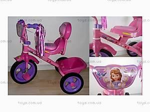 Детский трехколесный велосипед, розовый, BT-CT-0008