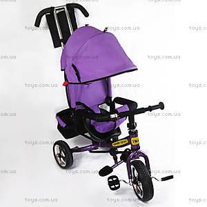Детский трехколесный велосипед с козырьком , BT-CT-0003 PU