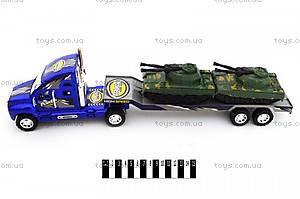 Детский трейлер, с машинками, 678-10