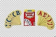 Детский веер с английскими буквами, К-7372, фото