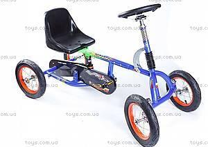 Детский велокарт Unix, синий, Unix Kart-01(blue)