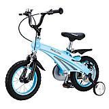 Детский велосипед Miqilong SD Синий 12`, MQL-SD12-BLUE, фото
