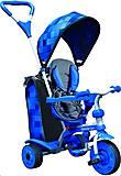Детский велосипед «Spin» синий, 100910, фото