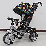 Детский велосипед TILLY Trike серый, T-344-4СЕРЫЙ