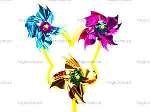 Детский ветрячок «Цветок», W02-1249, детские игрушки