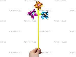 Детский ветрячок «Цветок», W02-1249, toys.com.ua