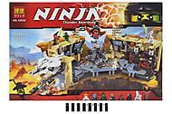 Детский конструктор «Ниндзя», 1307 деталей, 10530, фото