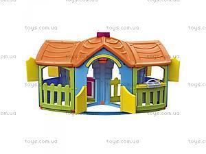 Детский игровой двухсторонний домик,